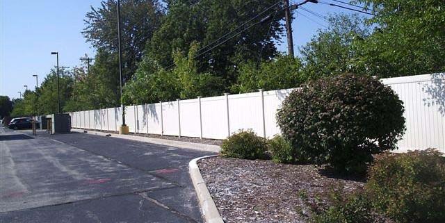WHITE NEW LEXINGTON STYLE PVC
