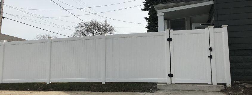 WHITE COLOR NEW LEXINGTON STYLE PVC